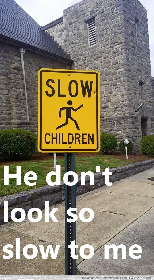 Lurv Meme: Slow Children